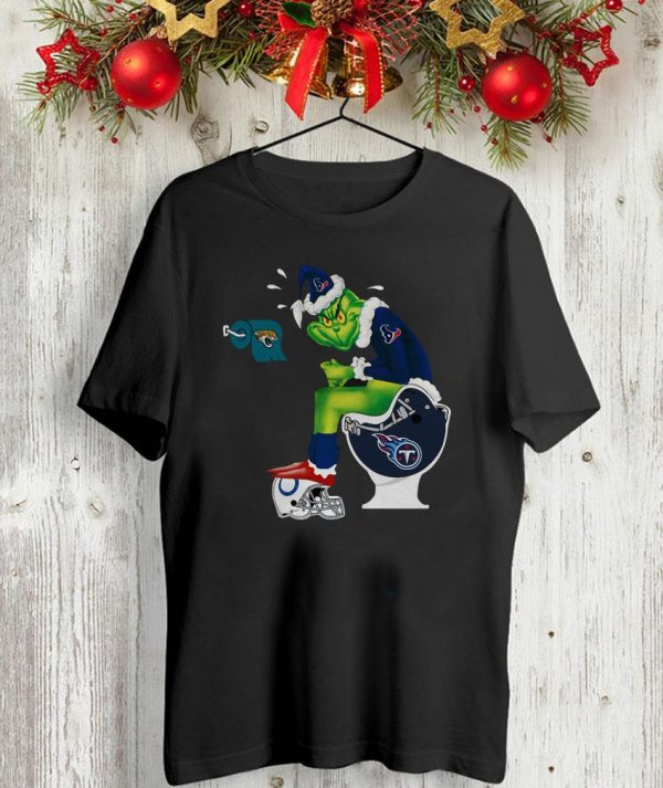The Grinch toilet Houston Texans shirt