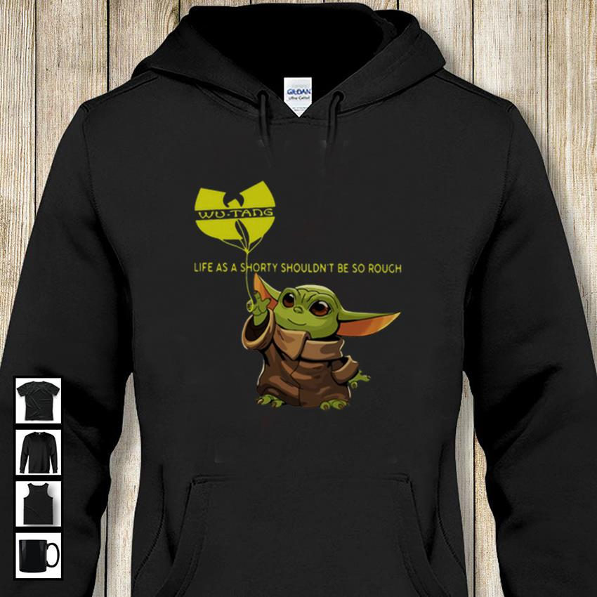 Baby Yoda hold balloon Wu Tang Clan Creams Lyrics hoodie-shirt