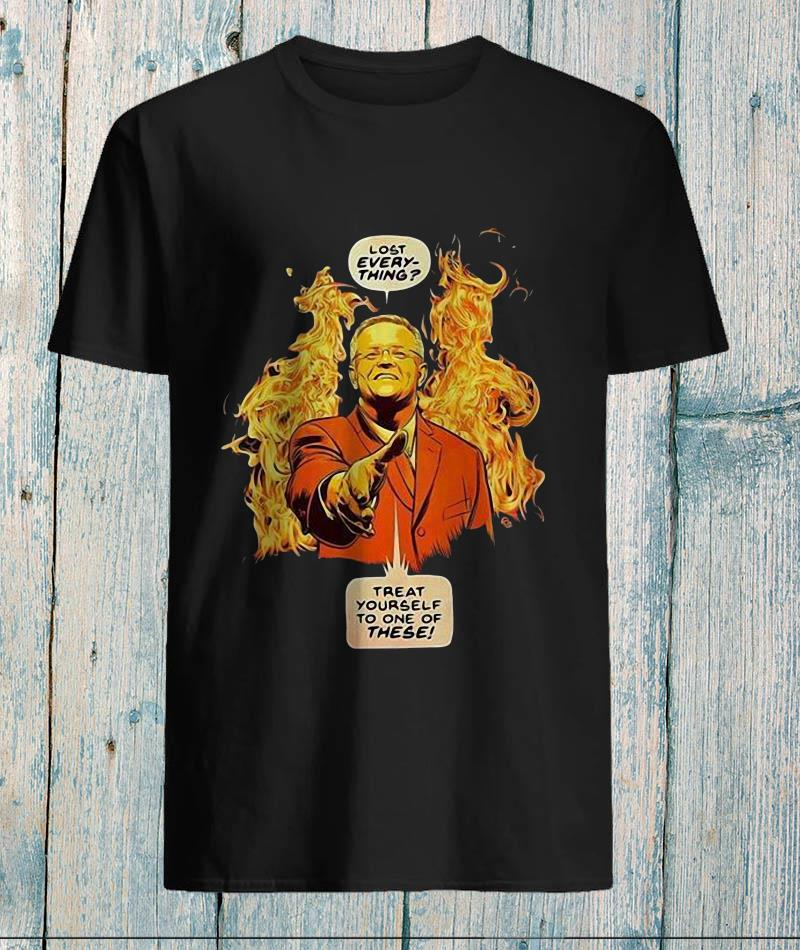 Lost everything treat yourself to one of these James Fosdike bushfire Australia unisex-shirt