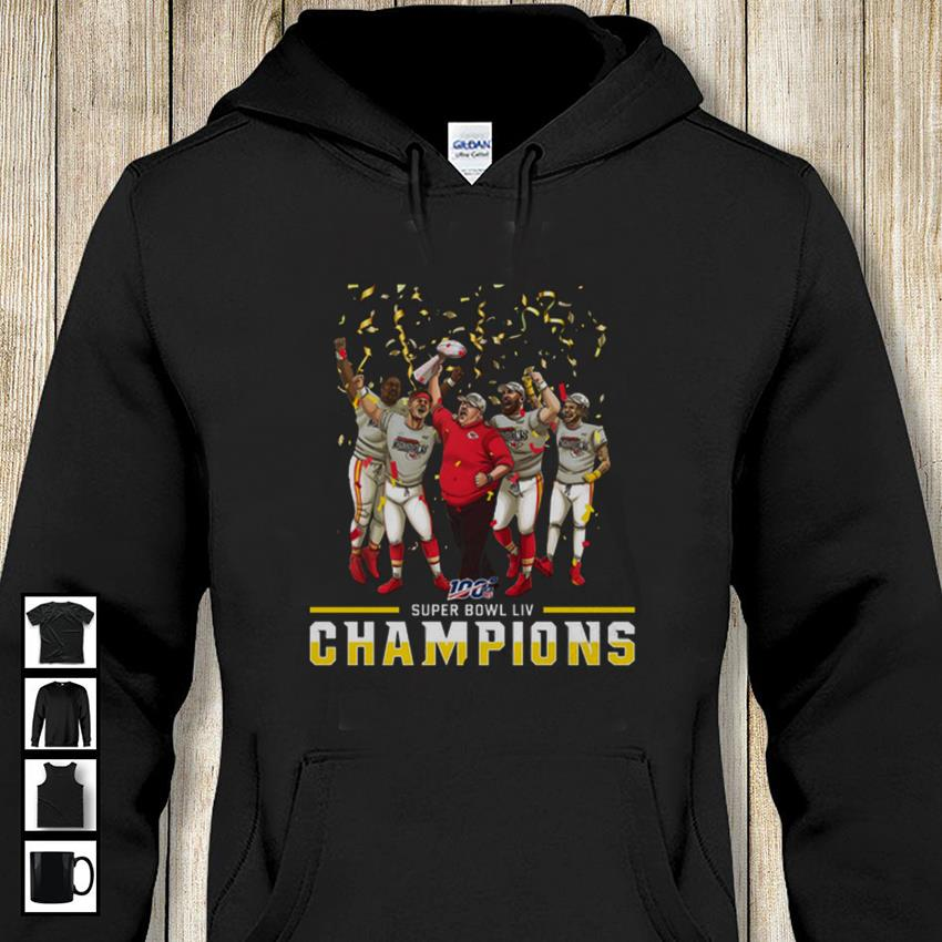 Super Bowl LIV Kansas City Chiefs Champions hoodie-shirt