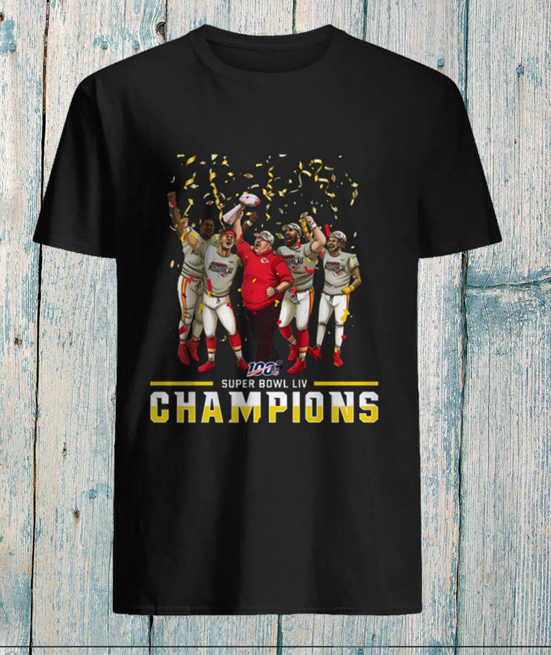Super Bowl LIV Kansas City Chiefs Champions unisex-shirt