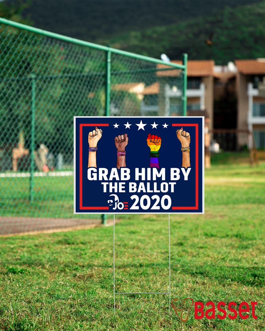 All skins grab him by the ballot yard sign campaign