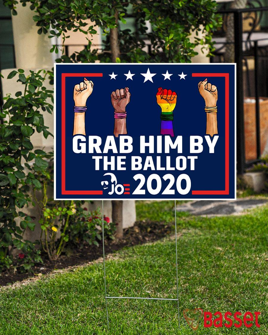 All skins grab him by the ballot yard sign election 2020