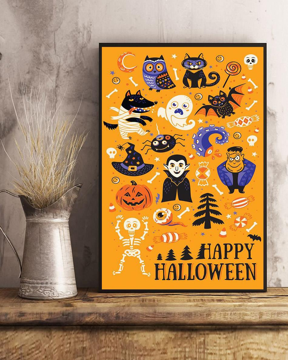 Best Of Halloween All Things Spooky poster art