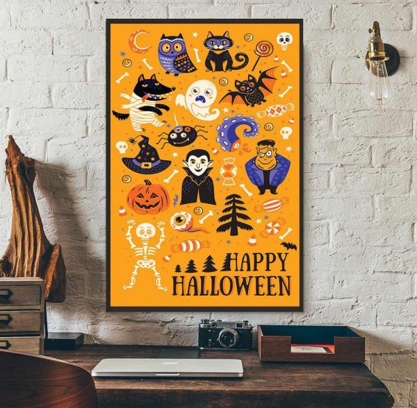 Best Of Halloween All Things Spooky poster wall art