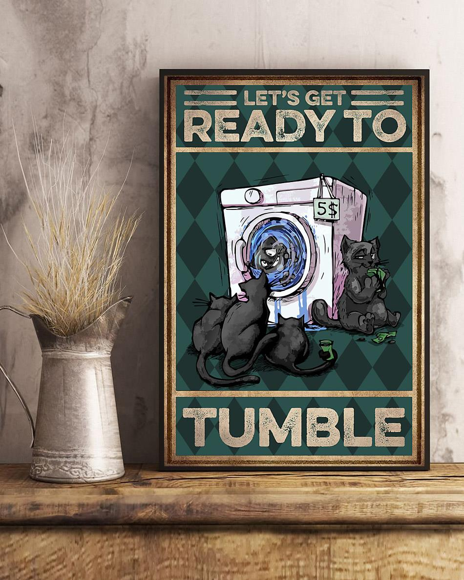 Cat let's get ready to rumble poster art