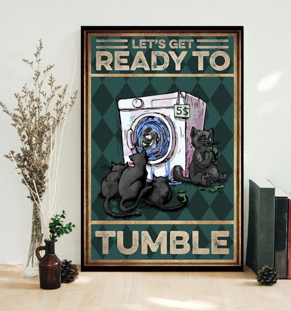 Cat let's get ready to rumble poster