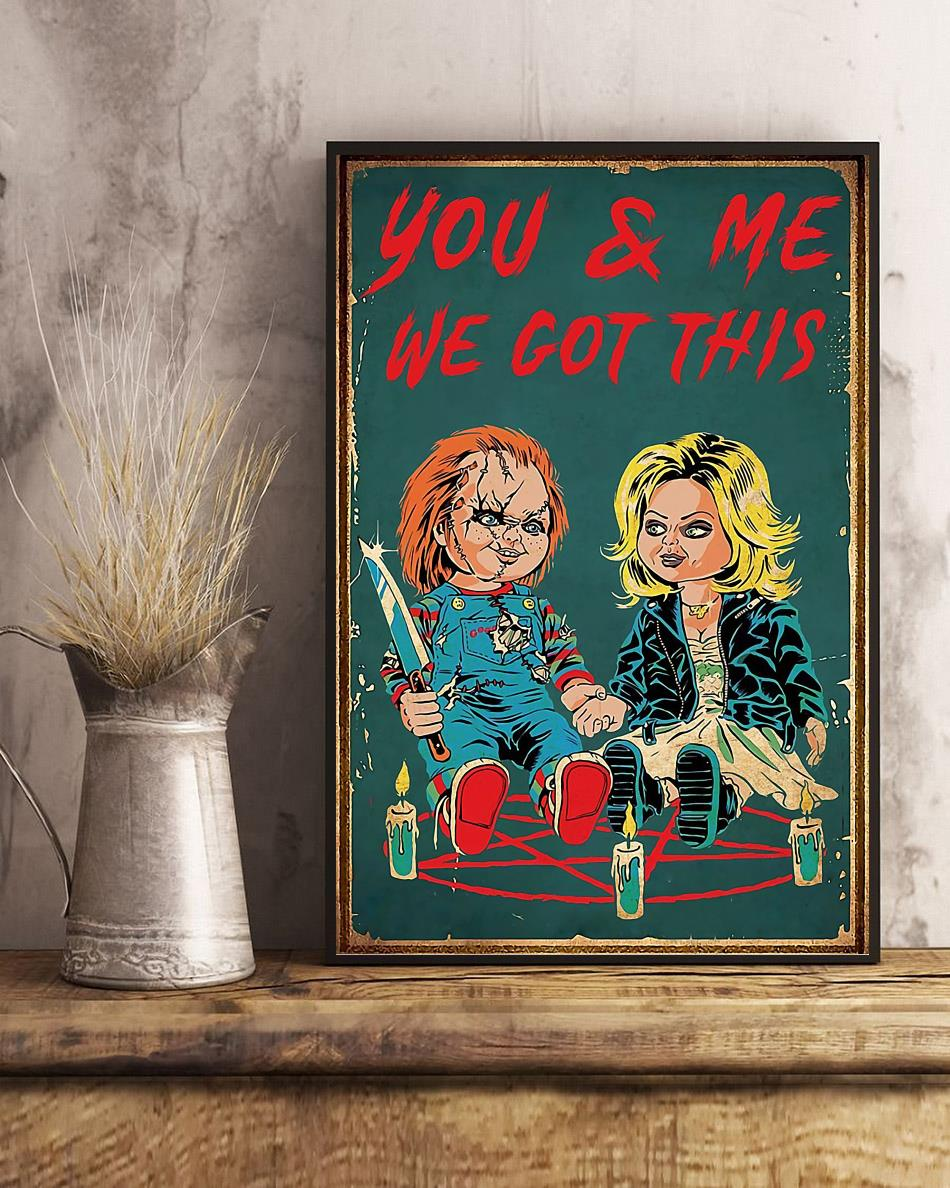 Chucky Tiffany you and me we got this poster art