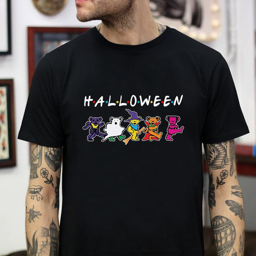 Grateful Bear Zombie Dancing Halloween T-shirt