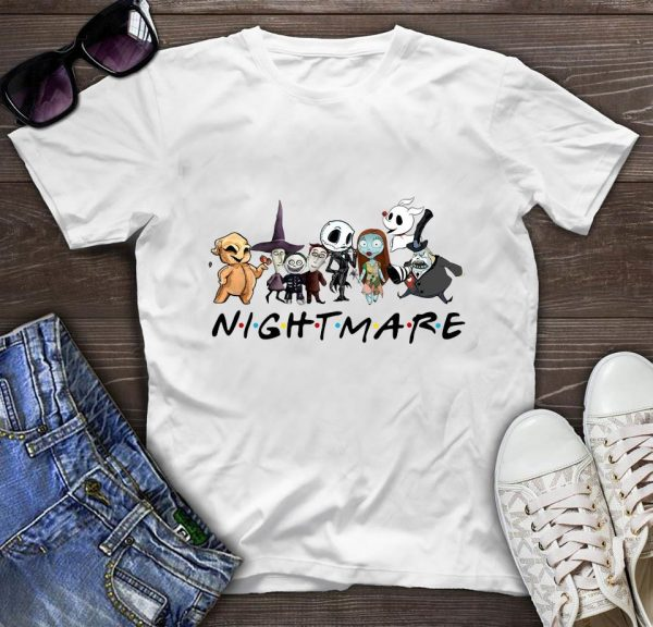 Horror Character Squad friends nightmare t-shirt