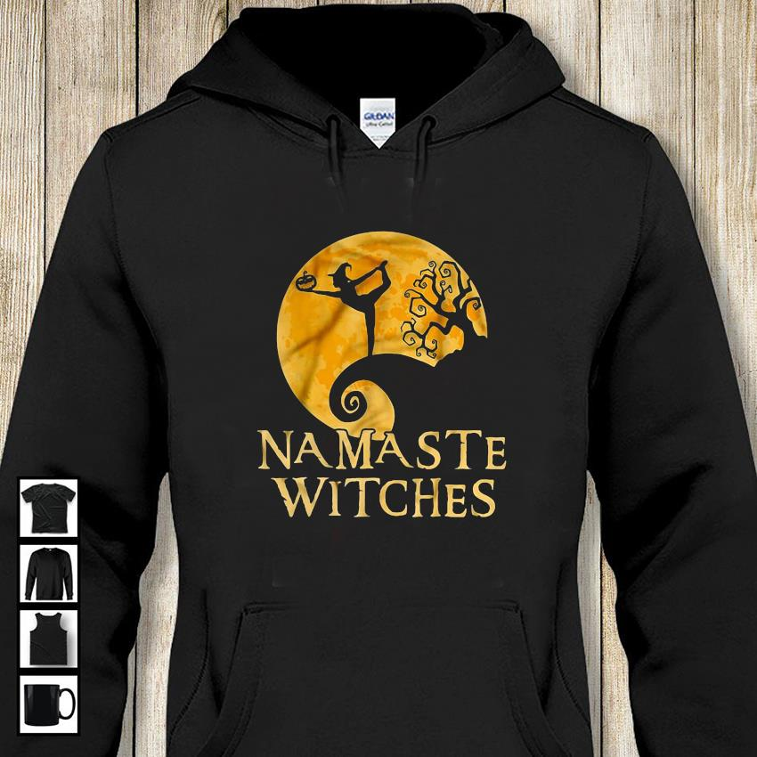 Namaste witch nightmare before Christmas t-s hoodie