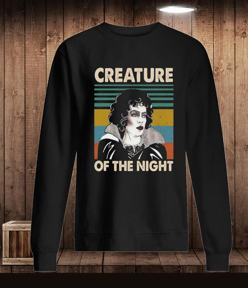 Rocky Horror creature of the night vintage t-s Longsleeve