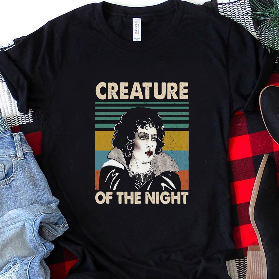 Rocky Horror creature of the night vintage t-s unisex