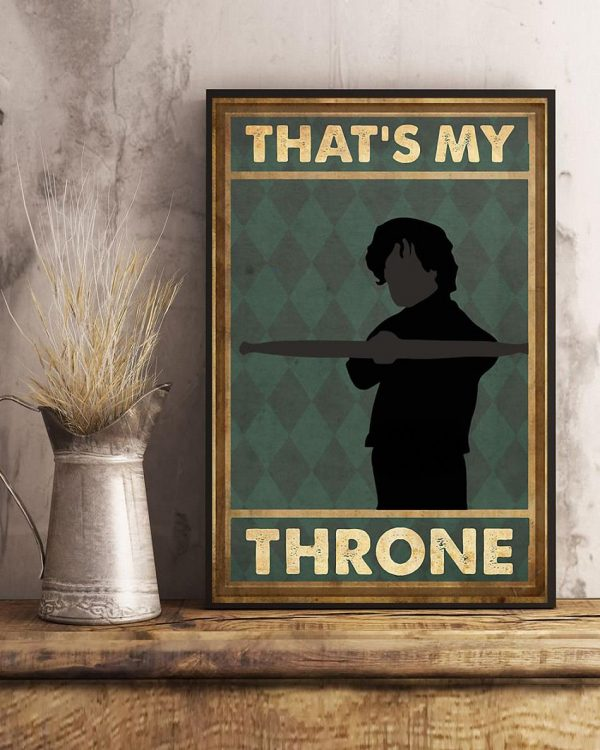 That's my throne vertical poster art