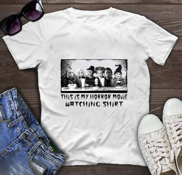 This is my horror movie watching Hocus Pocus Horror Gang t-shirt
