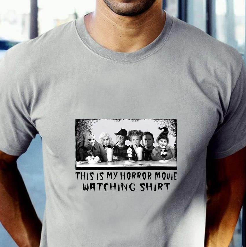 This is my horror movie watching Hocus Pocus Horror Gang t-s unisex