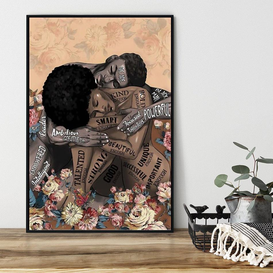 African American lose your mind find your soul poster black