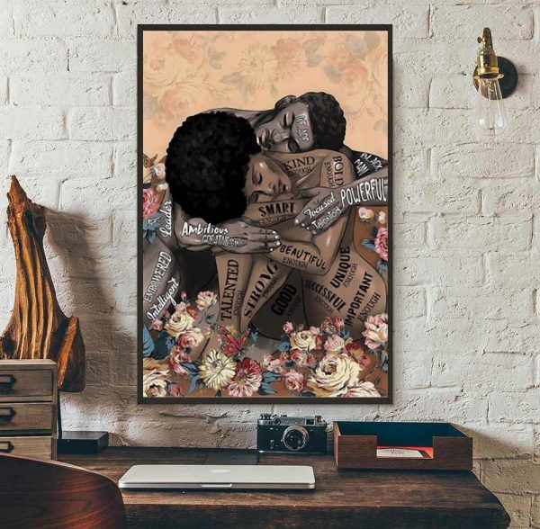 African American lose your mind find your soul poster wall art