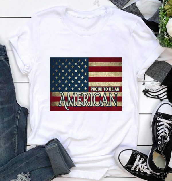 American flag I am proud to be American yard sign ca