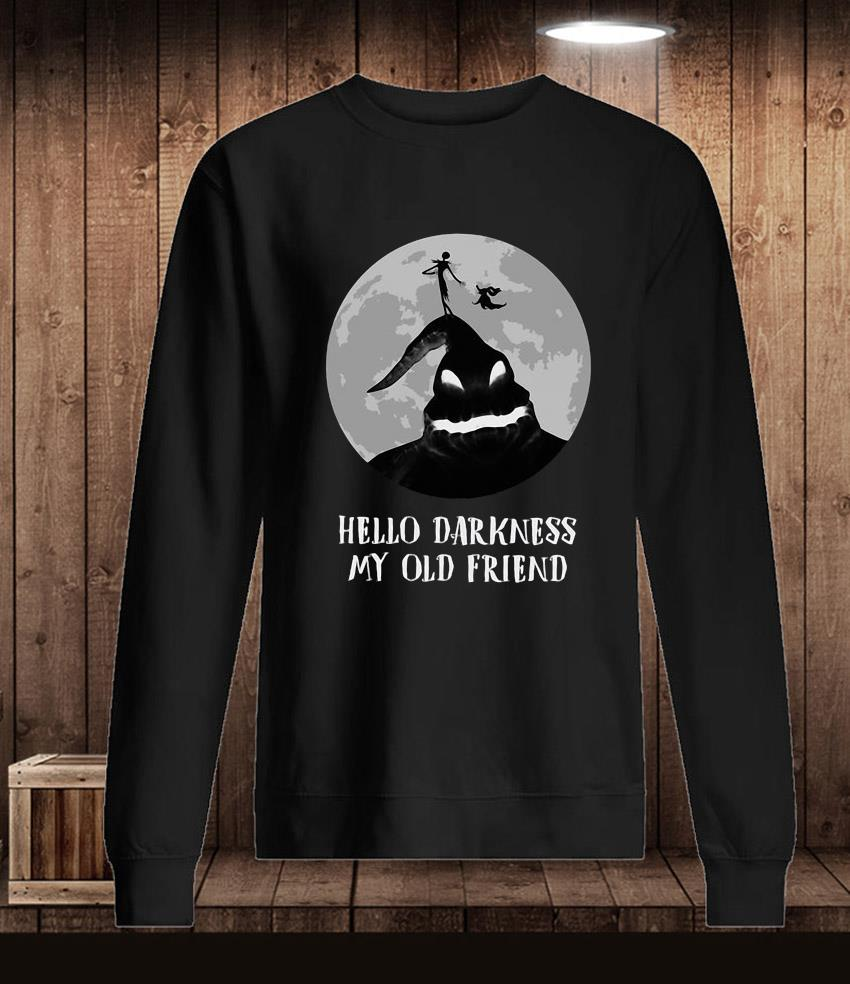 Boo ghost hello darkness my old halloween t-s Longsleeve