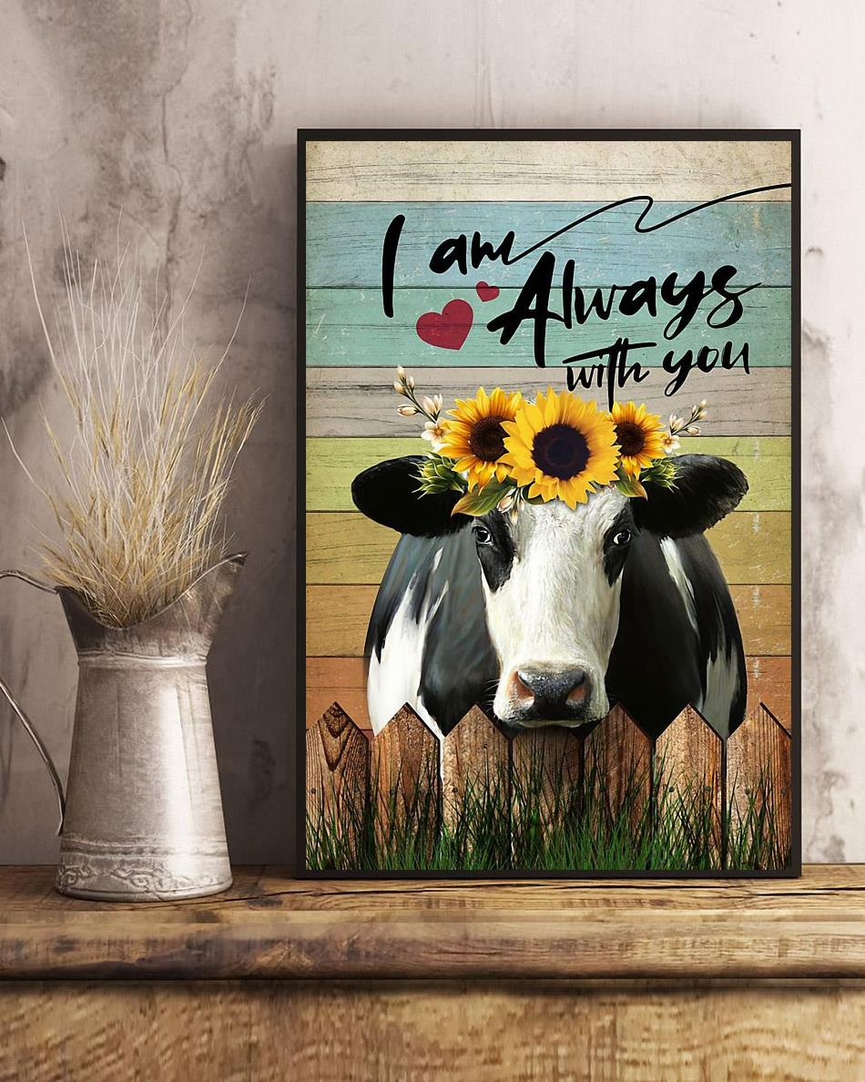 Cow I am always with you poster art
