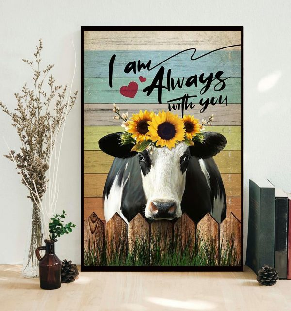Cow I am always with you poster