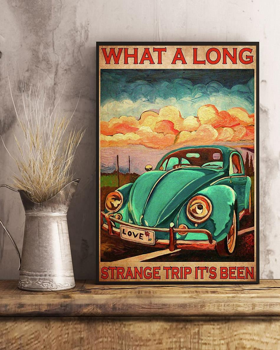What a long strange trip it's been love peace poster art