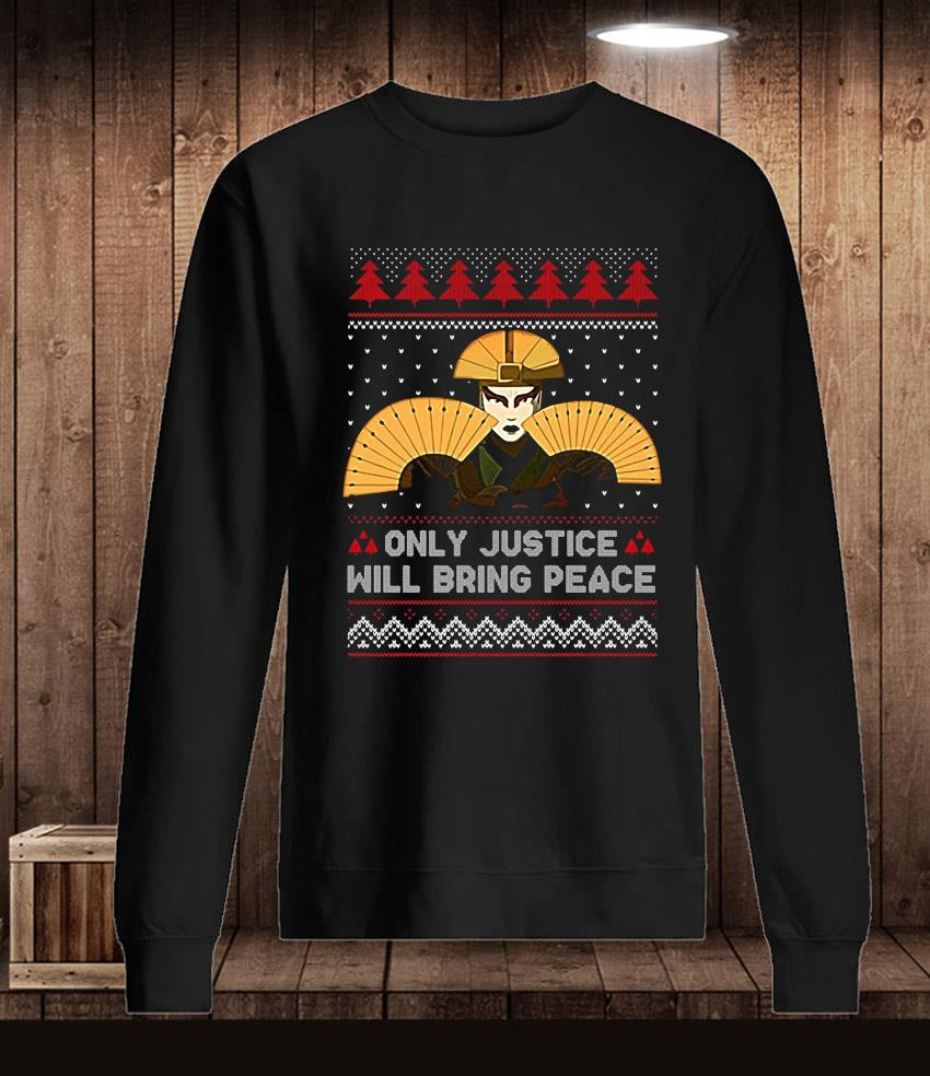 Kyoshi only justice will bring peace christmas t-s Longsleeve