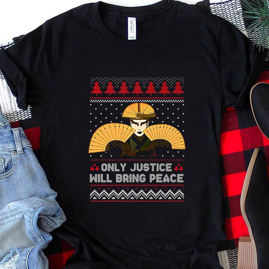 Kyoshi only justice will bring peace christmas t-s unisex