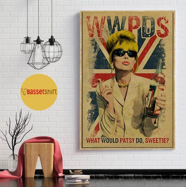 What would Patsy do Christmas poster