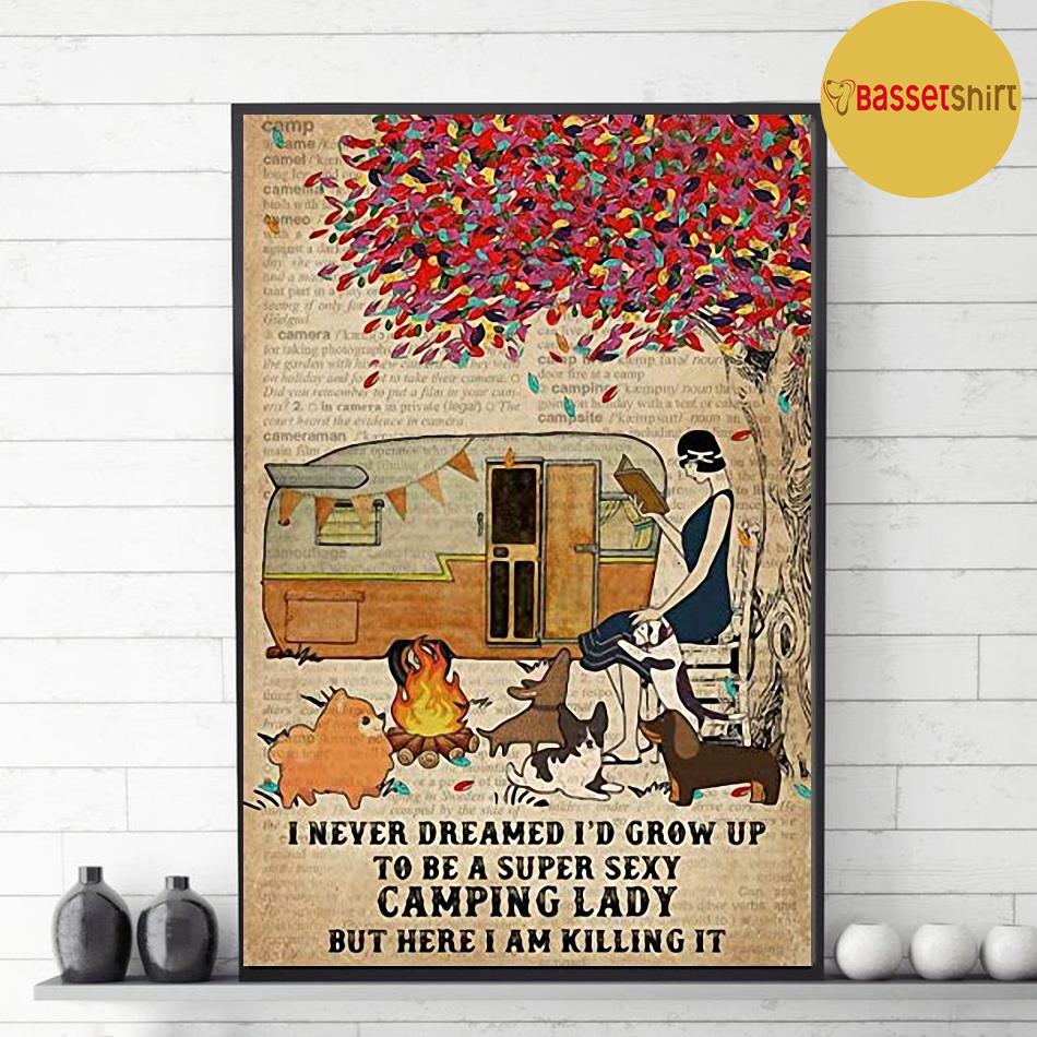 I never dreamed I'd grow up to be a super sexy vamping lady poster decor