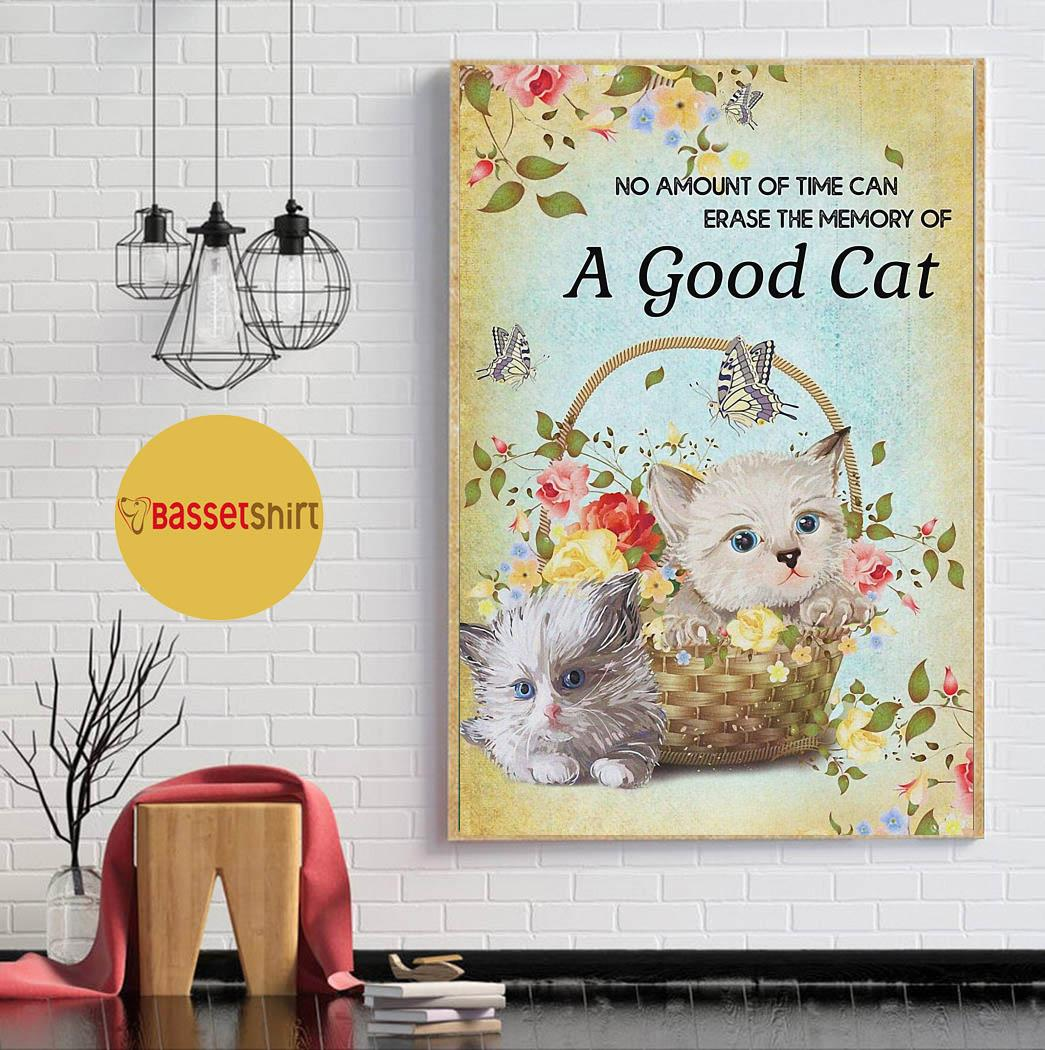 No amount of time can erase the memory of a good cats poster