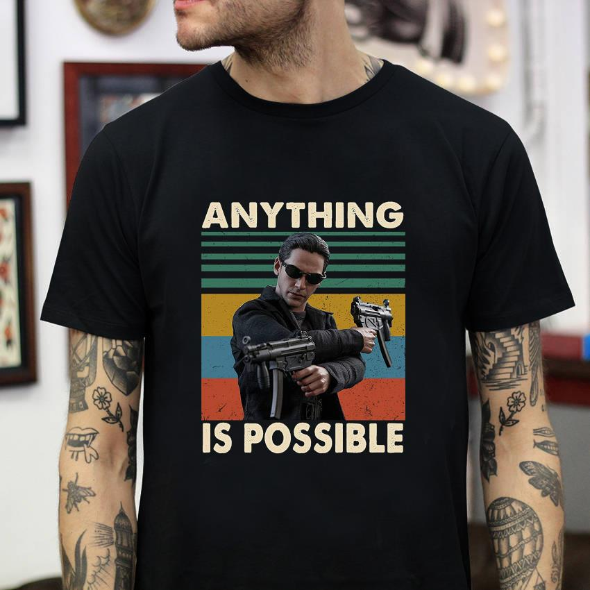 The Matrix anything is possible vintage t-shirt