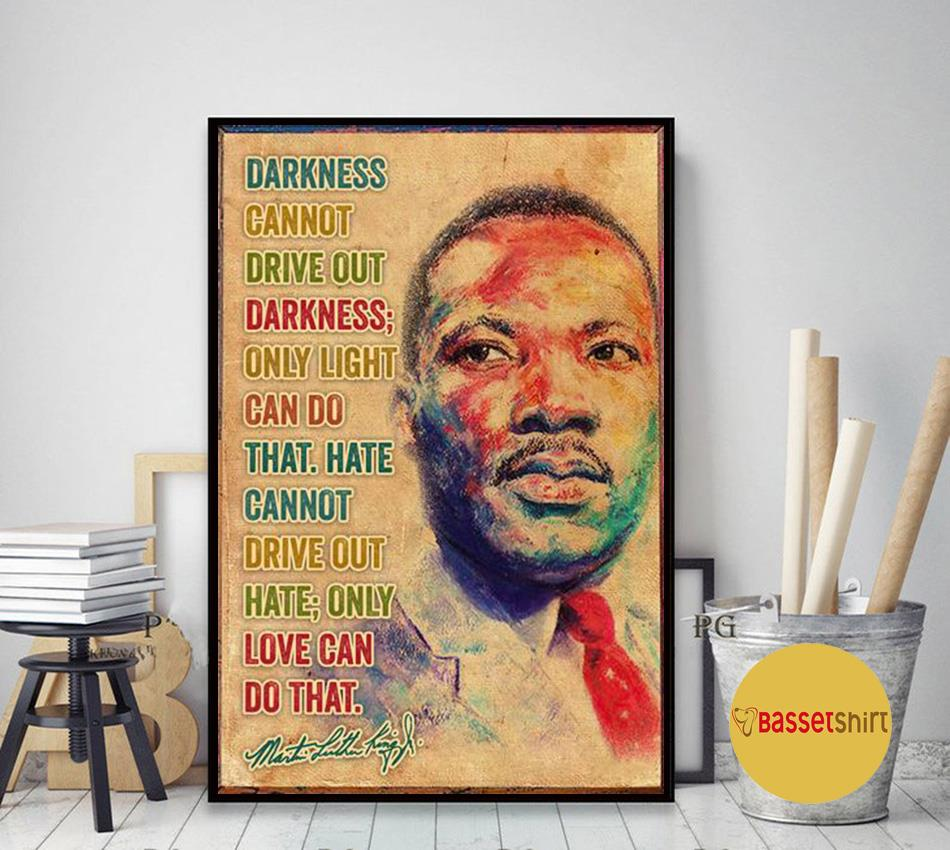 Martin Luther Black Lives Matter,Civil Rights poster canvas